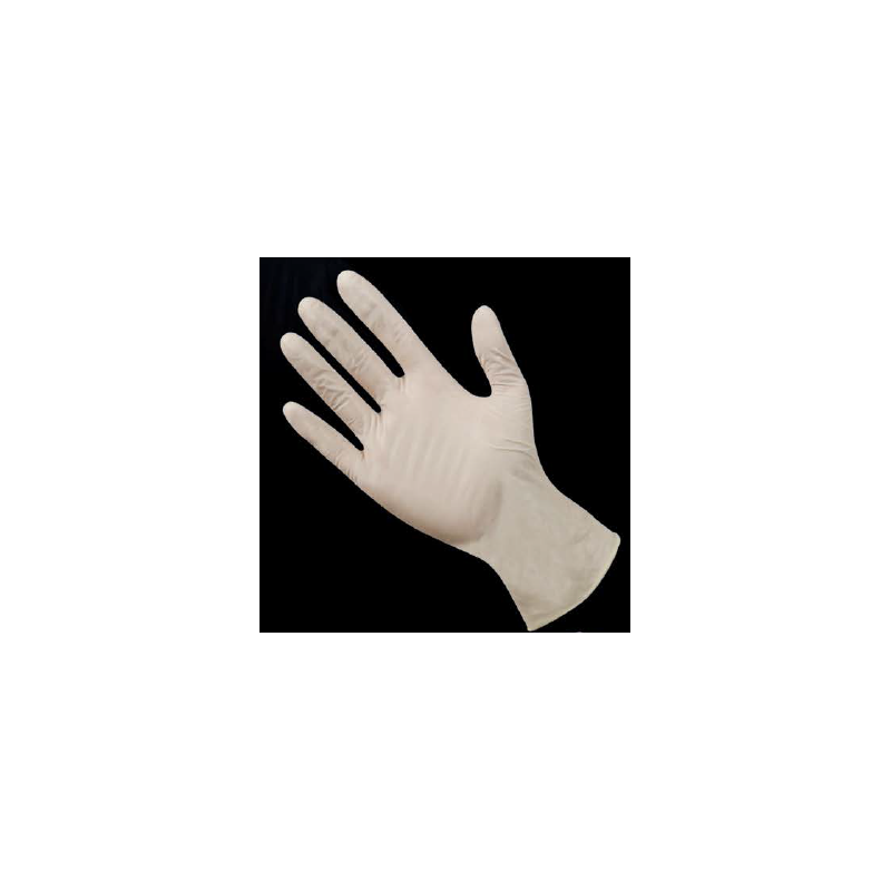 Rokavice Latex pudrane
